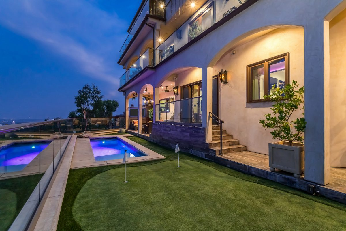 Ron White's luxury home in Beverly Hills