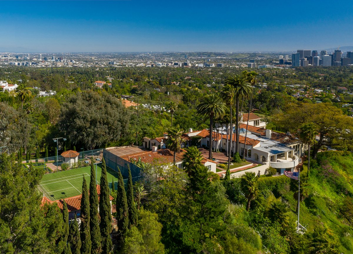 LeBron James' new home in Los Angeles