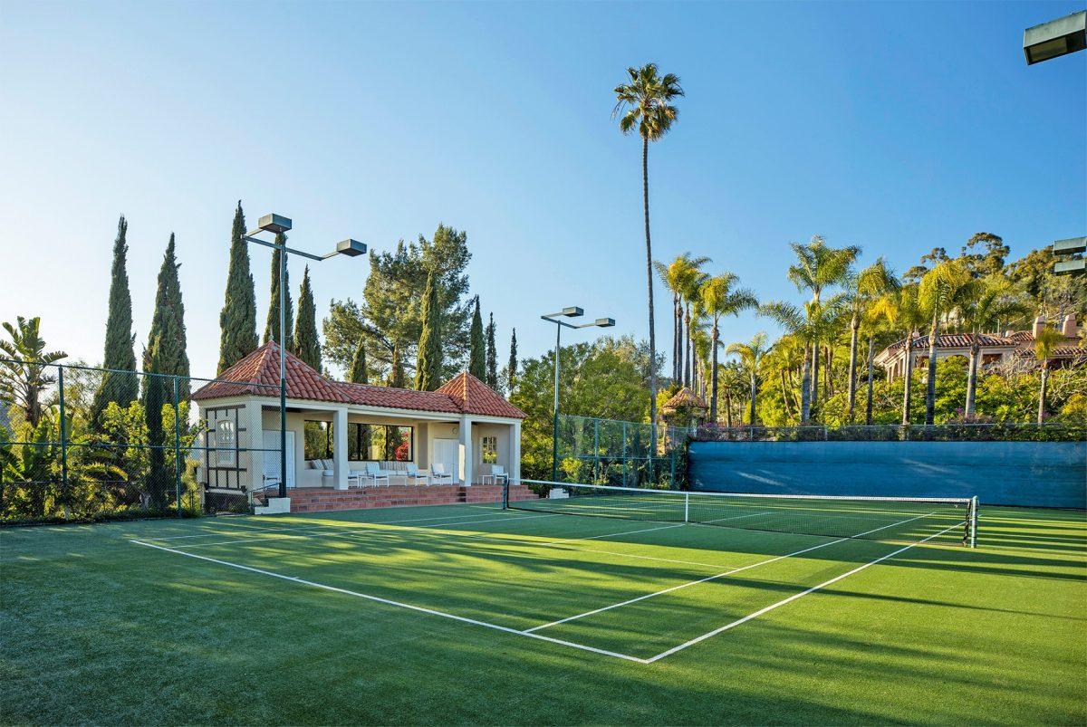 LeBron James' Beverly Hills compound