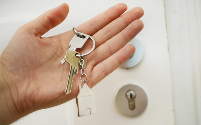 The keys to your new house.